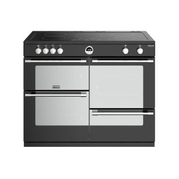 Stoves Sterling Deluxe S1100 Induktion Schwarz Range Cooker Stoves Sterling Deluxe S1100 Induktion Schwarz Range Cooker