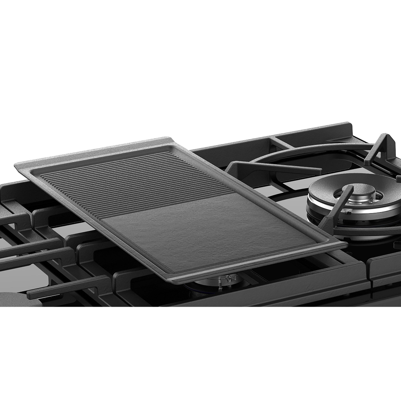 Stoves Sterling Deluxe S1100 GTG Schwarz Range Cooker Gaskochfeld mit Glaskeramik