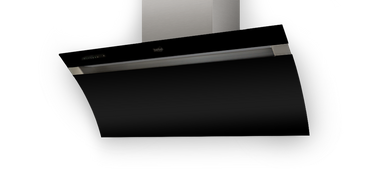 a k berbel kopffreihaube glassline bkh 90 gl 2 schwarz dunstabz ge dunstabzugshauben. Black Bedroom Furniture Sets. Home Design Ideas