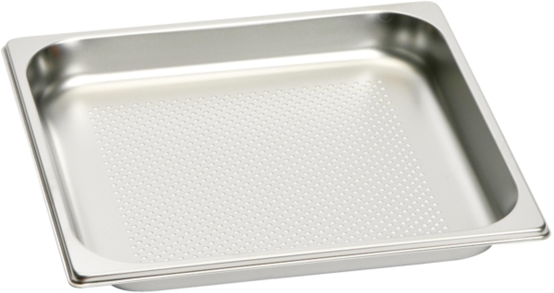 Gaggenau Gastronorm-Behälter aus Edelstahl, GN 2/3 GN 124 230 Gaggenau Gastronom Bräter GN124230