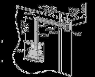 berbel Abluft-Set ECO II – Flach 125