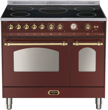 LOFRA - DOLCEVITA - INDUKTION - RRD 96 MFTE/ 5I - Burgundy - Messing Finish