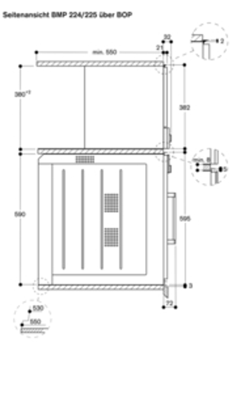 Gaggenau Mikrowelle Metallic 60 cm Linksanschlag Bedienung unten BMP 225 110 Serie 200