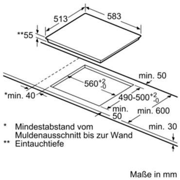Siemens Induktions-Kochfeld EI645CFB1E