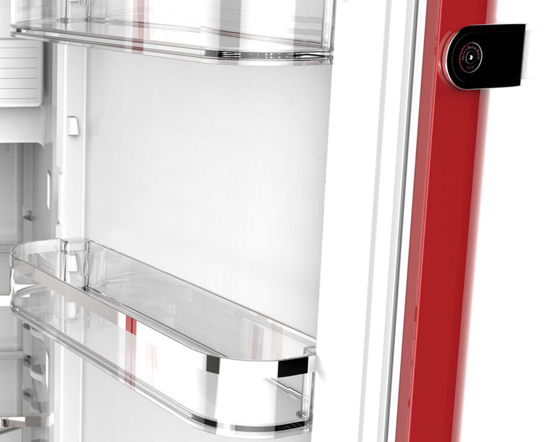 KitchenAid Kühlschrank Iconic KCFME 60150R Rechtsanschlag - Rot