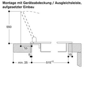 Gaggenau VG 425 111 Vario Gaskochfeld Edelstahlrahmen Serie 400 Breite 38 cm Flüssiggas 50 mbar
