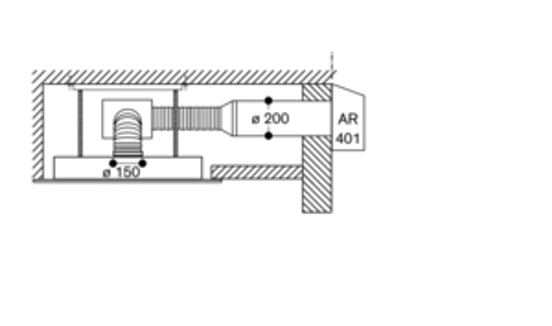 Gaggenau AC 472 181 Vario Deckenlüftung Edelstahl Serie 400