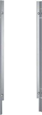 Gaggenau DA 020 010 Verblendungsleisten Edelstahl für 81,5 cm hohe Geschirrspüler