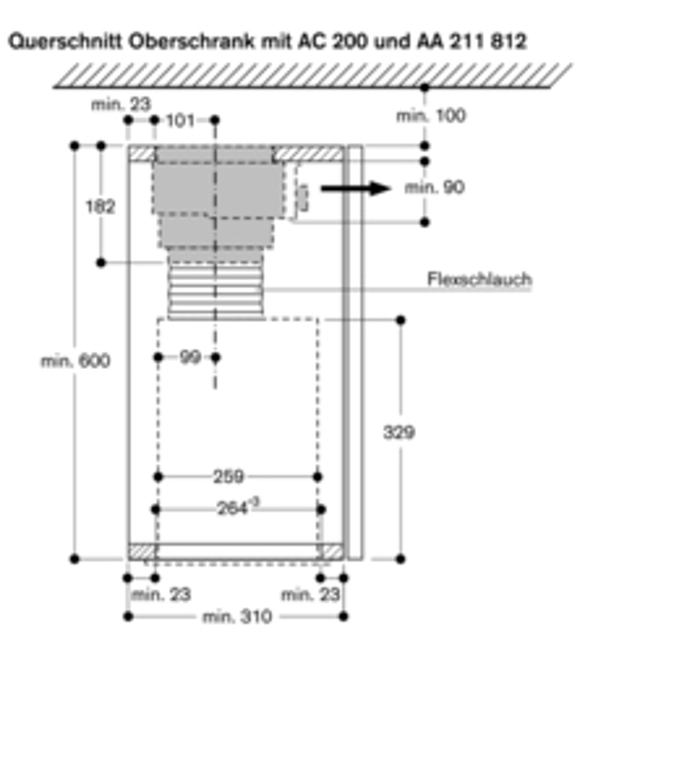 Gaggenau AA 211 812 Patentiertes Umluftmodul