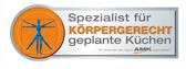 Spezialist für KÖRPERGERECHT geplante Küchen
