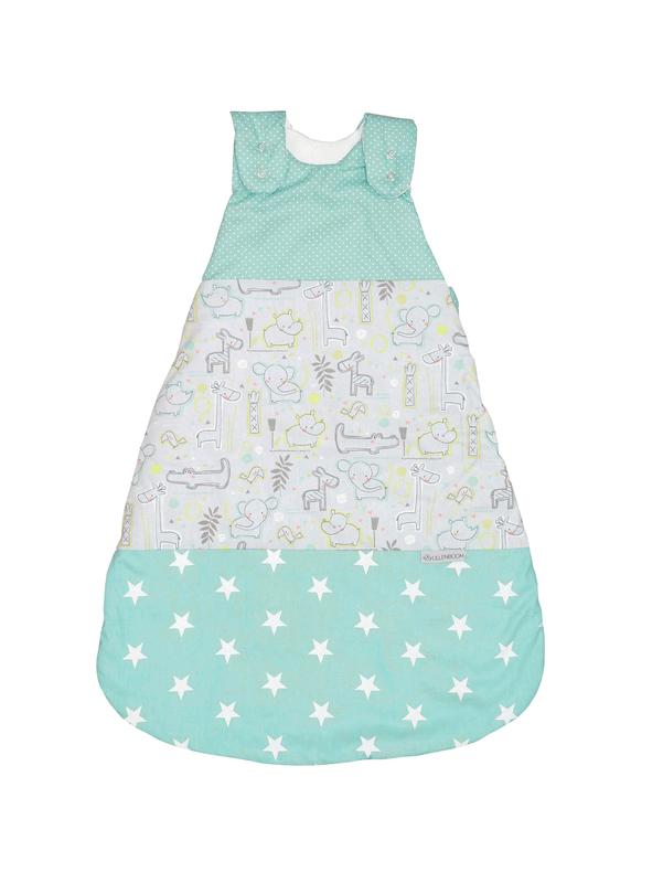 Baby Schlafsack SAFARI PFEFFERMINZ