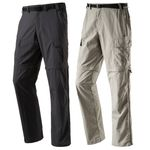 McKinley Herren Wander Trekking Outdoor Hose AMITE Zip Off Hose Shorts Dry Plus  001