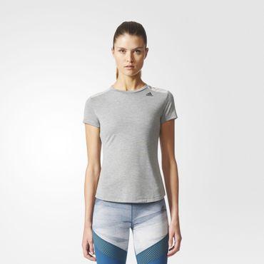 adidas Damen climalite Prime Mix Tee Sport Fitness Trainings Shirt BQ5802 Neu – Bild 3