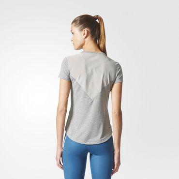 adidas Damen climalite Prime Mix Tee Sport Fitness Trainings Shirt BQ5802 Neu – Bild 5