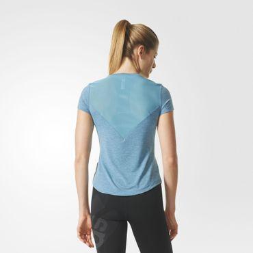 adidas Damen climalite Prime Mix Tee Sport Fitness Trainings Shirt BQ5804 Neu – Bild 5