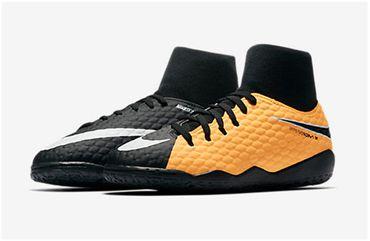 Nike Kinder Hallen Fußball Schuhe HYPERVENOMX PHELON 3 DF IC 917774 Hallenschuhe – Bild 1
