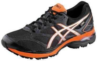 Asics Herren Sport Fitness Running Lauf Schuhe Pulse 8 Gore Tex GTX Schwarz Neu
