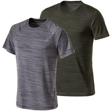 Energetics Herren Sport Fitness Freizeit Trainings T-Shirt TIGER 267829 Melange – Bild 1