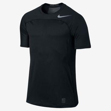 Nike Herren Sport Fitness Dri-Fit T-Shirt Hypercool Fitted Shirt Schwarz 887109 – Bild 1