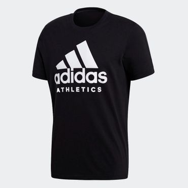 adidas Herren Athletics Sport Fitness Trainings Freizeit T-Shirt ID BR4749 Neu – Bild 1