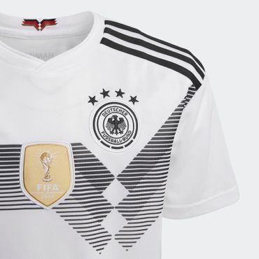 adidas Kinder Fußball DFB Heimtrikot Replica Trikot WM 2018 Climalite BQ8460 Neu – Bild 3