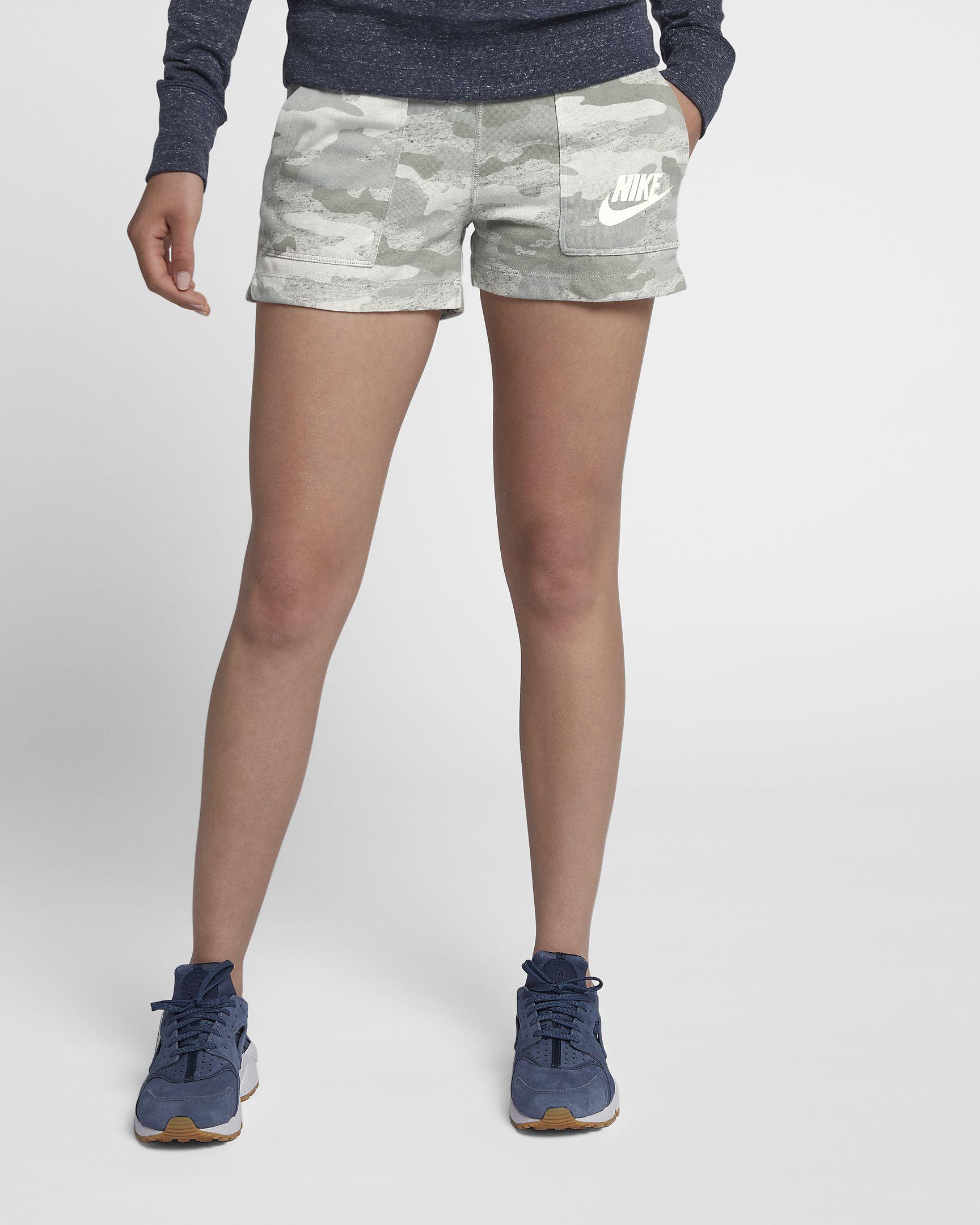d05077c79071bd Nike Damen Camo Sport Freizeit Fitness Shorts Gym Vintage kurze Hose ...