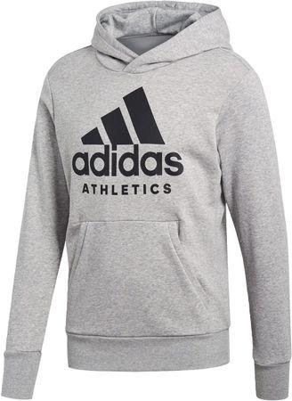 adidas Herren Sport Fitness Freizeit ID Hoodie Branded Kapuzen Hoody B47375 Neu