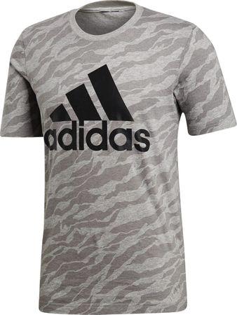 adidas Herren Freizeit ESS Allover Print T-Shirt AOP Camouflage Shirt CY6310 Neu