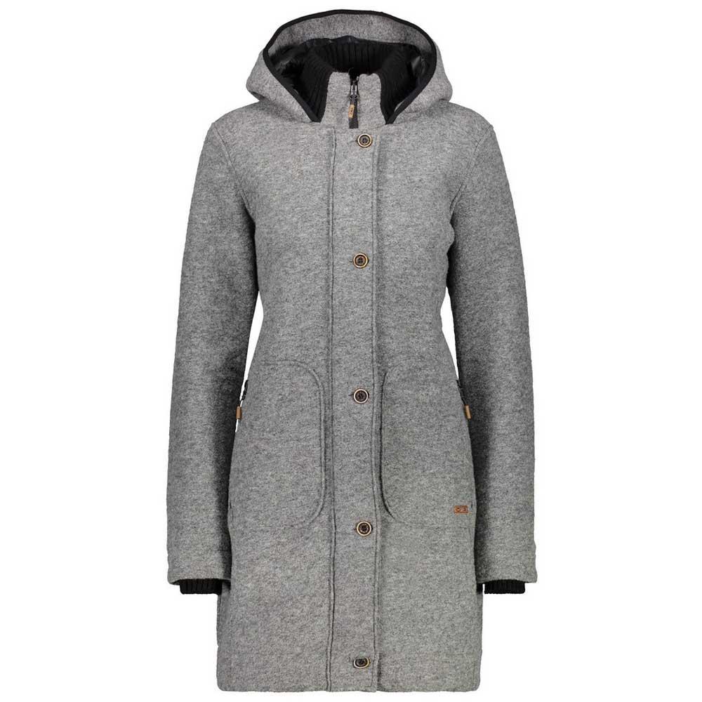 beste Schuhe heißer verkauf billig Website für Rabatt Details zu CMP Campagnolo Damen Winter Outdoor WOOLTECH Mantel Fix Hood  Coat Parka 38M3276