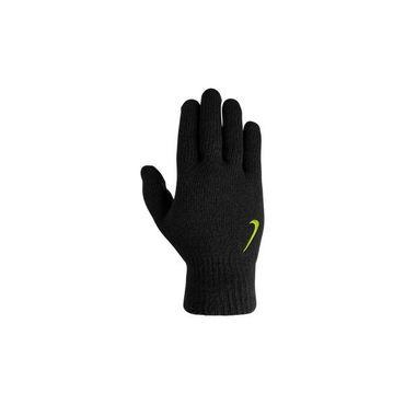 Nike Knitted Tech Touchscreen Sport Freizeit Lauf Handschuhe Schwarz 9317-20 Neu