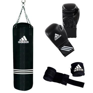 adidas Box- Set Performance Trainings- Set Boxsack Boxhandschuhe Bandagen ADIBAC11KIT