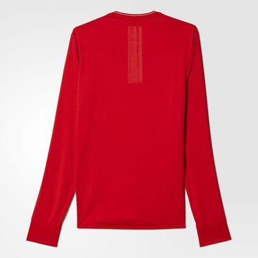 adidas Herren Climalite Supernova Running Langarm Laufshirt Shirt Rot B43383 Neu – Bild 2