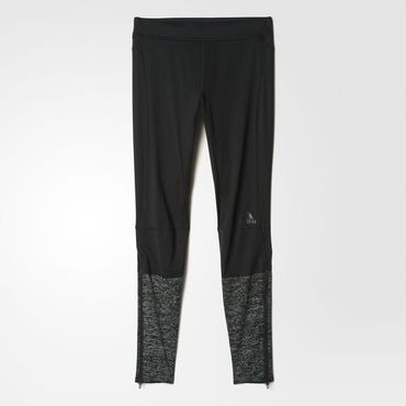 Adidas Herren Supernova Laufhose lange Sport Jogging Hose Tight S94403 Schwarz – Bild 1
