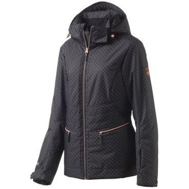 McKinley Damen Winter Wander Outdoor Jacke Skylar Schwarz Aquabase Pro 250841