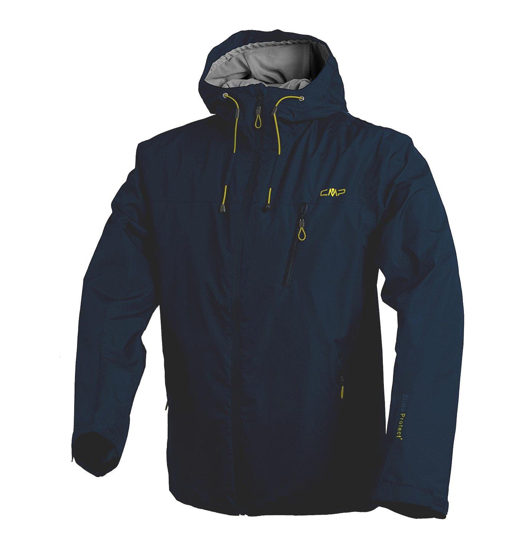 Campagnolo Herren Wander Freizeit Softshell Jacke fester Kapuze navy blau