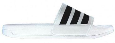 Adidas Herren Damen Badeschuhe Badelatschen Cloudfoam CF Adilette AQ1702 Weiß – Bild 2