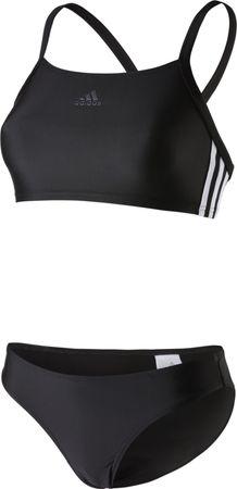 Adidas Damen Sport Bikini Infinitex EC3S 3S Streifen Authentic Schwarz BS0397 DQ3309