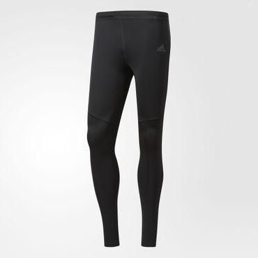 adidas Herren Sport Fitness Response Long Tight Lauf Running Hose Schwarz BK7717