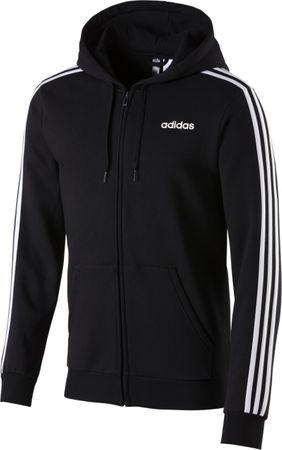Adidas Herren Sport Freizeit Fitness ESS Kapuzenjacke Sweatjacke Jacke DQ3101