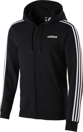 Adidas Herren Sport Freizeit Fitness ESS Kapuzenjacke Sweatjacke Jacke DQ3101 – Bild 1