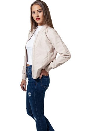 Urban Classics TB1217 Damen Jacke Ladies Light Bomber Jacket – Bild 9