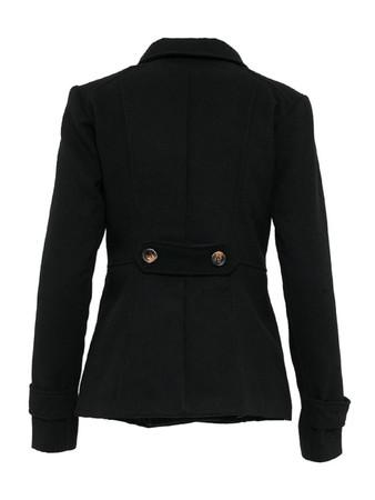 Madonna Modische Jacke mit Kragen und Knöpfe – Bild 4