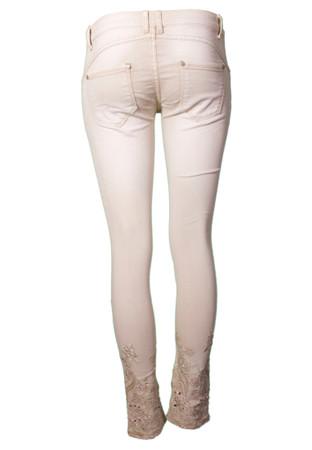 Madonna Trendy Jeans regular Rhinestones 2 Farben – Bild 5