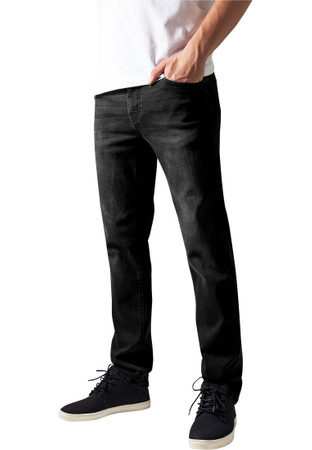 Urban Classics TB1437 Herren Jeanshose Stretch Denim Pants – Bild 2