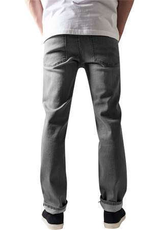 Urban Classics TB1437 Herren Jeanshose Stretch Denim Pants – Bild 3