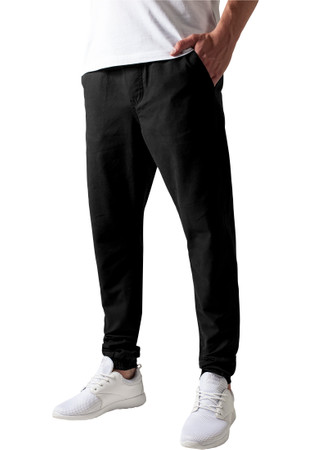 Urban Classics TB1434 Herren Hose Washed Canvas Jogging Pants – Bild 3
