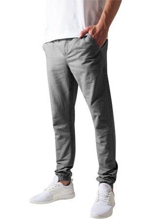 Urban Classics TB1434 Herren Hose Washed Canvas Jogging Pants – Bild 1