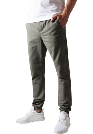 Urban Classics TB1434 Herren Hose Washed Canvas Jogging Pants – Bild 2