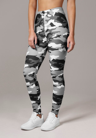 Urban Classics Damen Ladies Camo Leggings – Bild 3