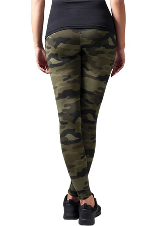 Urban Classics Damen Ladies Camo Leggings – Bild 6
